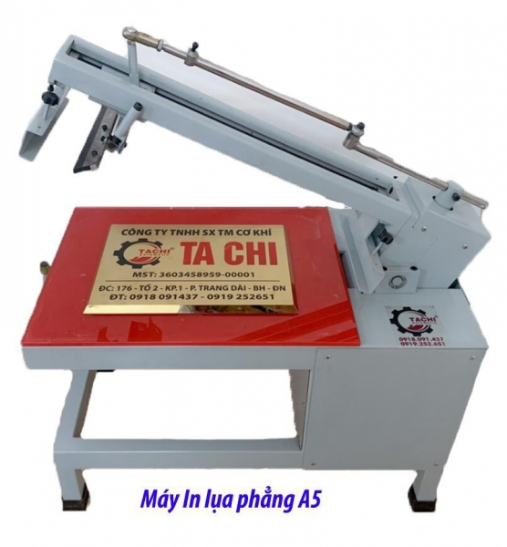 MÁY IN LỤA PHẲNG A5