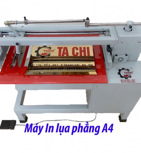 MÁY IN LỤA PHẲNG A4